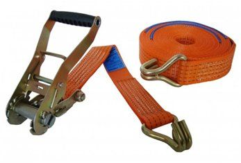 50mm Ratchet Strap C/W Claw Hook